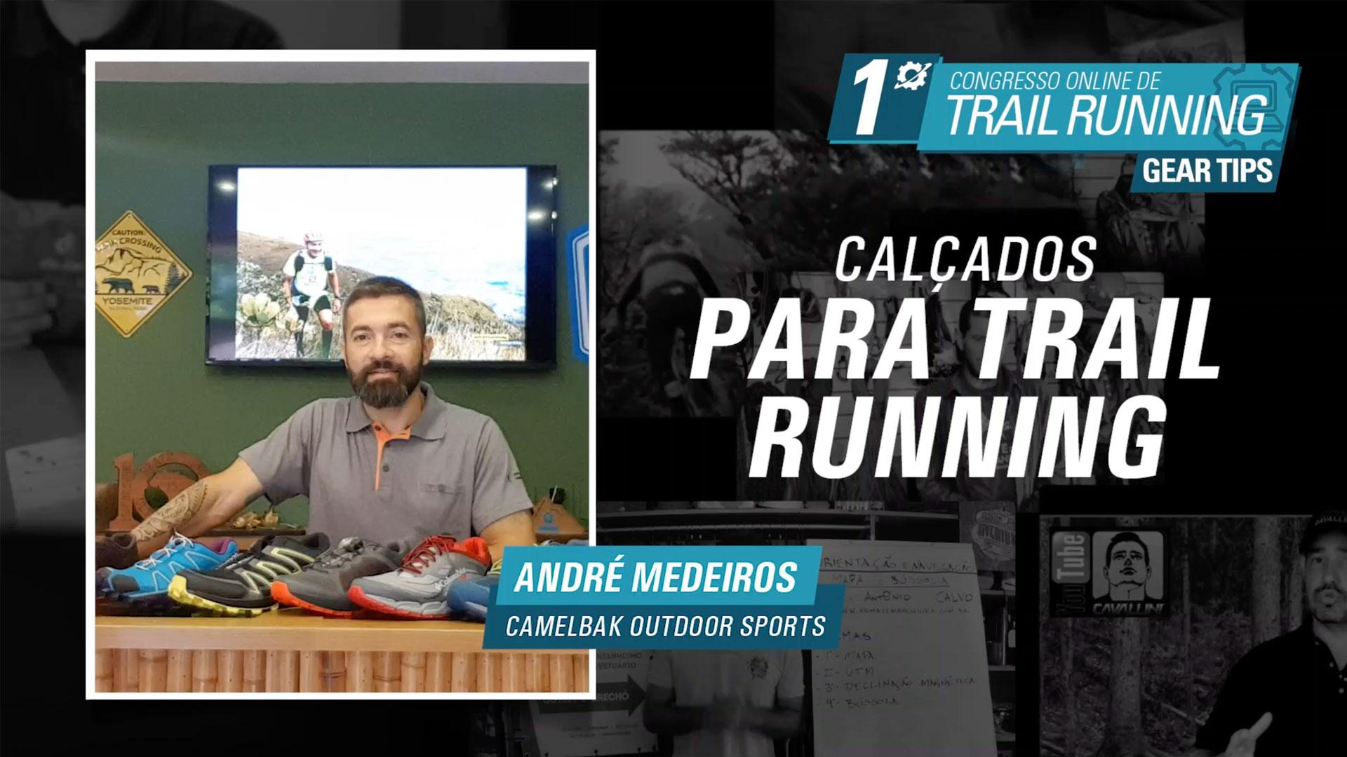 Calçados para Trail Running - André Medeiros