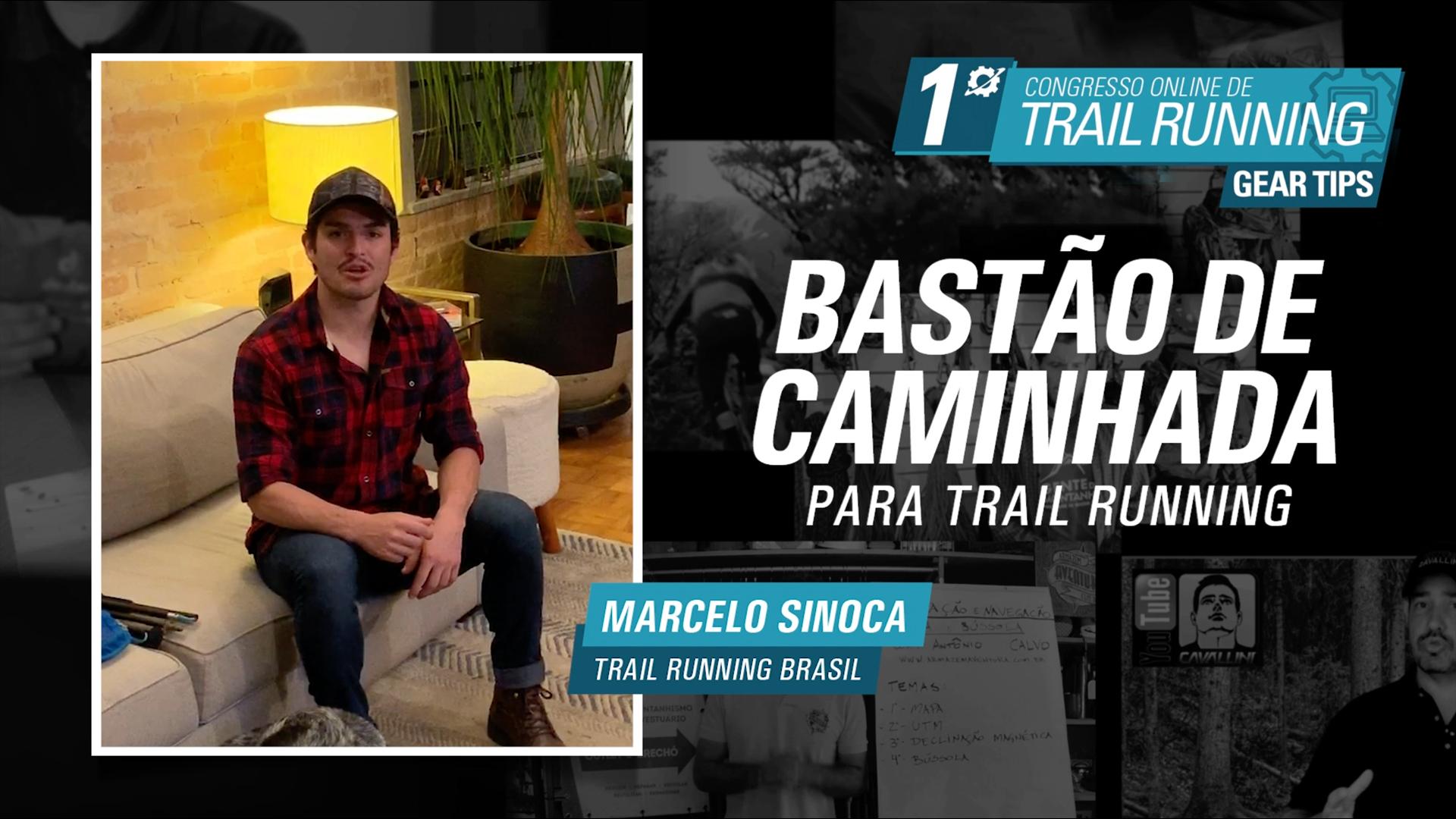 Bastões de Caminhada para Trail Running - Marcelo Sinoca