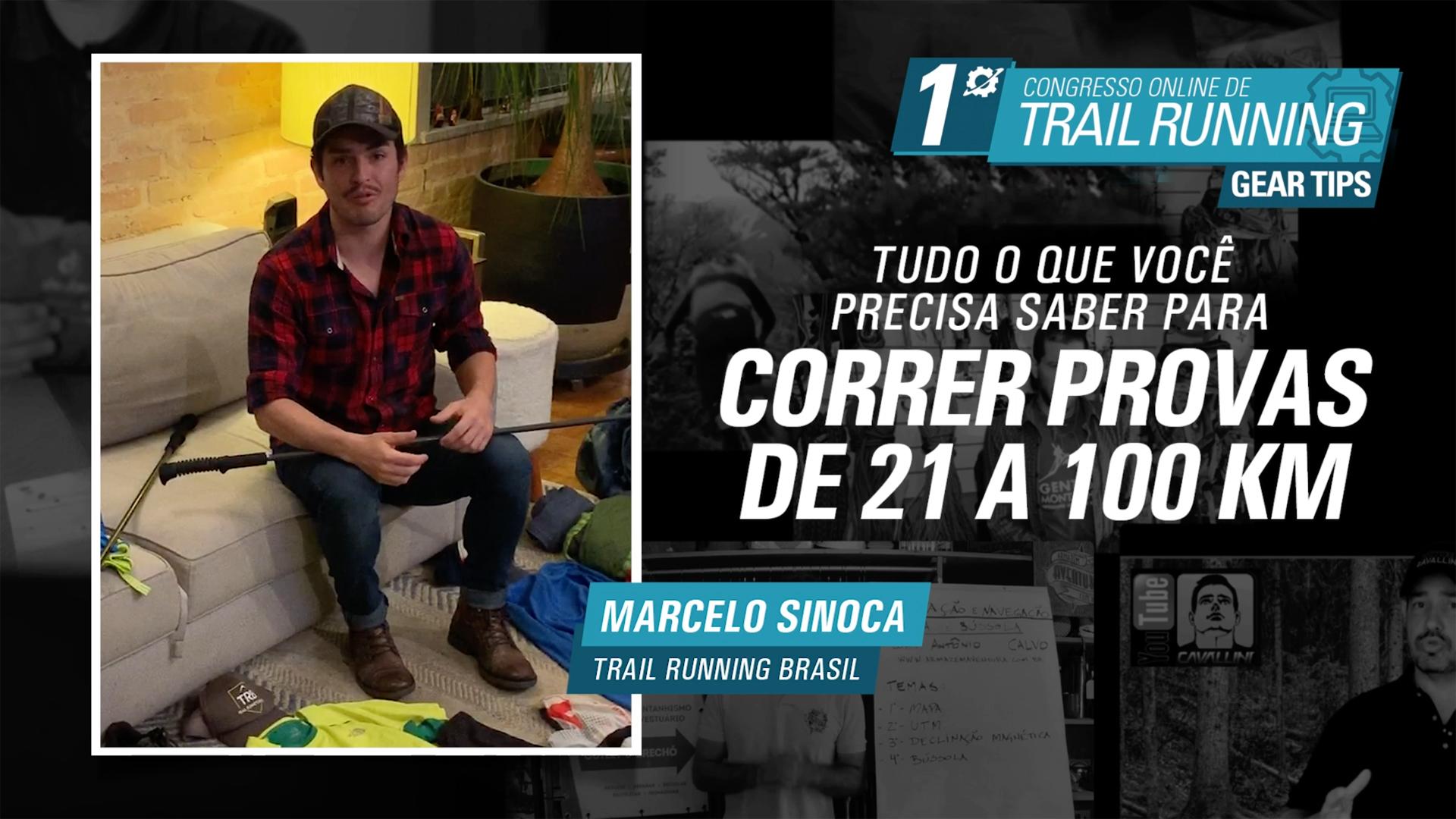 Correr provas de 21 a 100Km - Marcelo Sinoca
