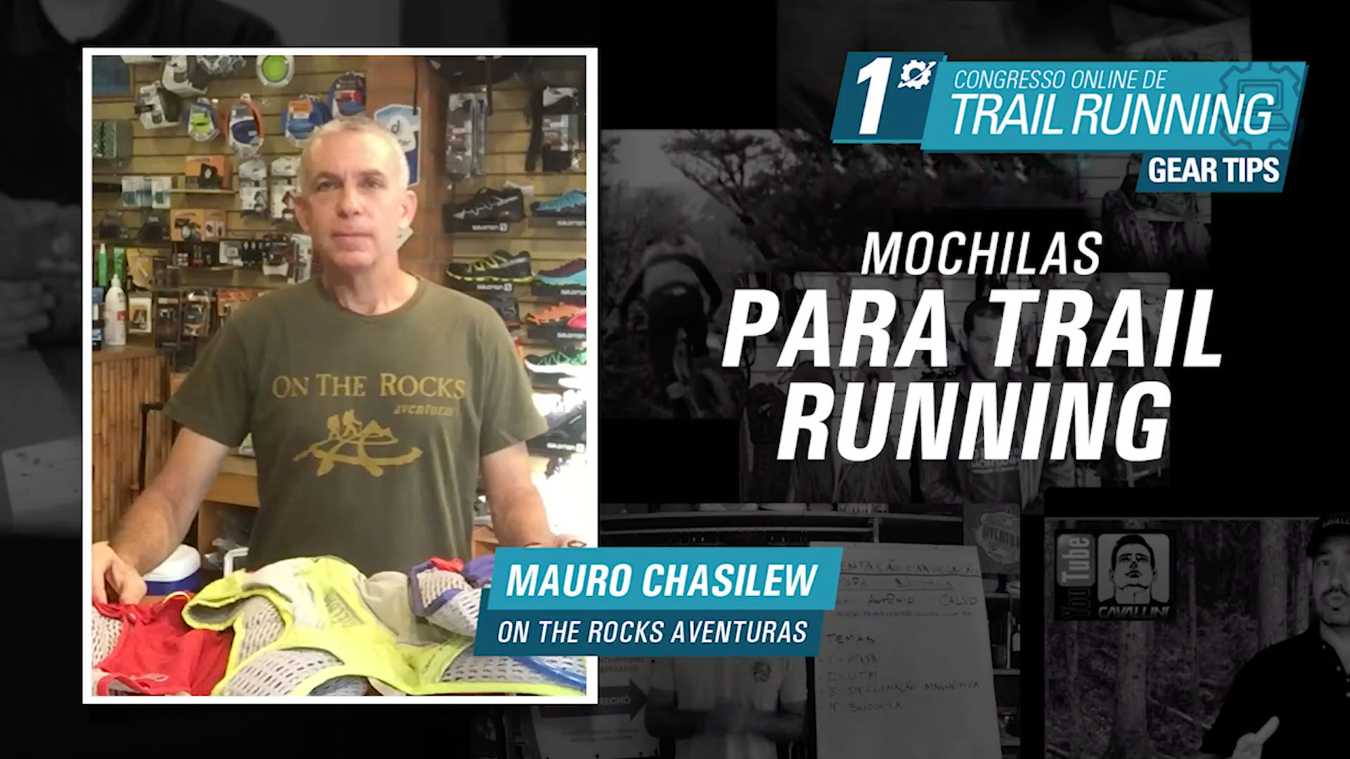 Mochilas para Trail Running - Mauro Chasilew