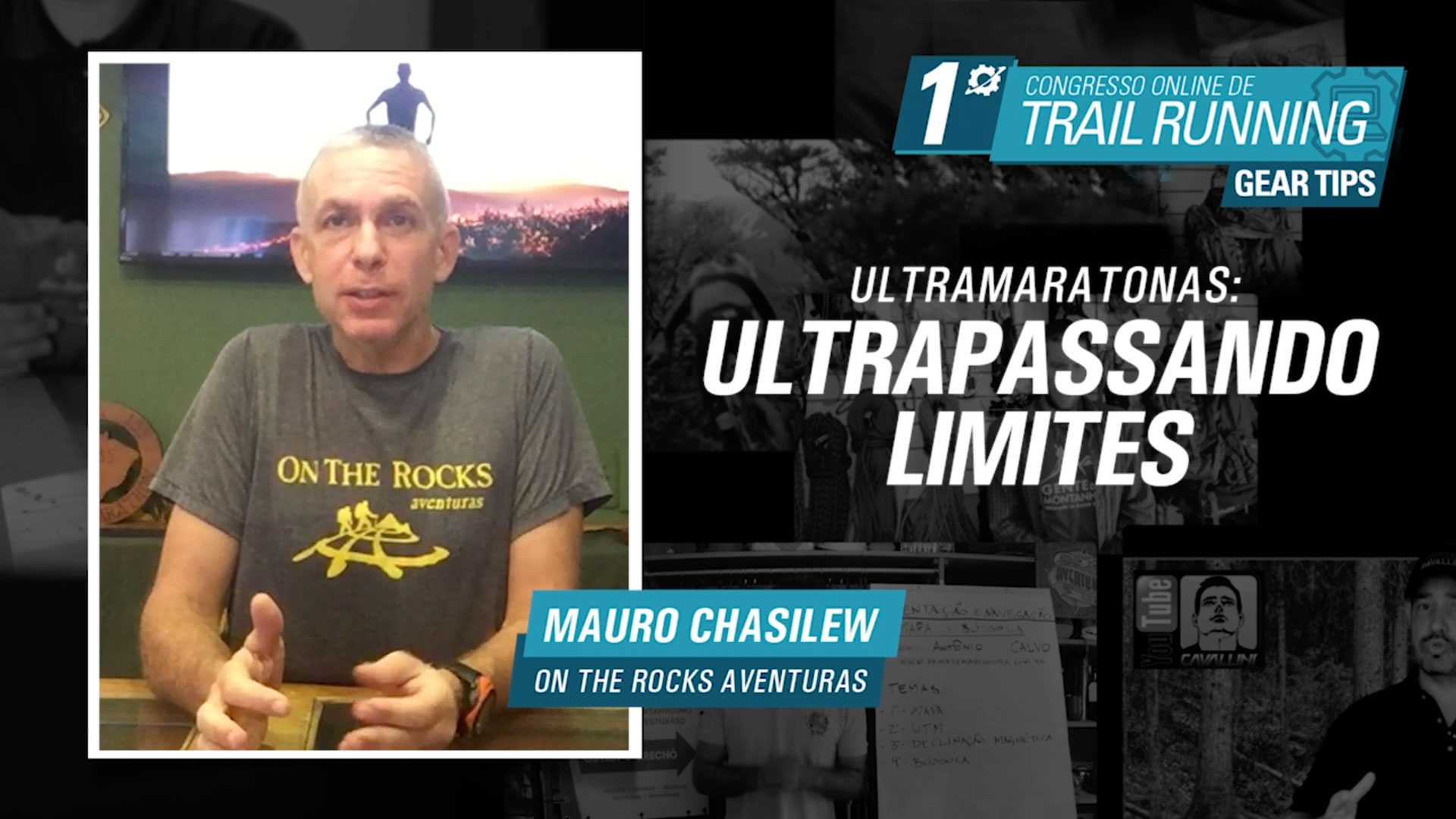 Maratonas Ultrapassando Limites - Mauro Chasilew