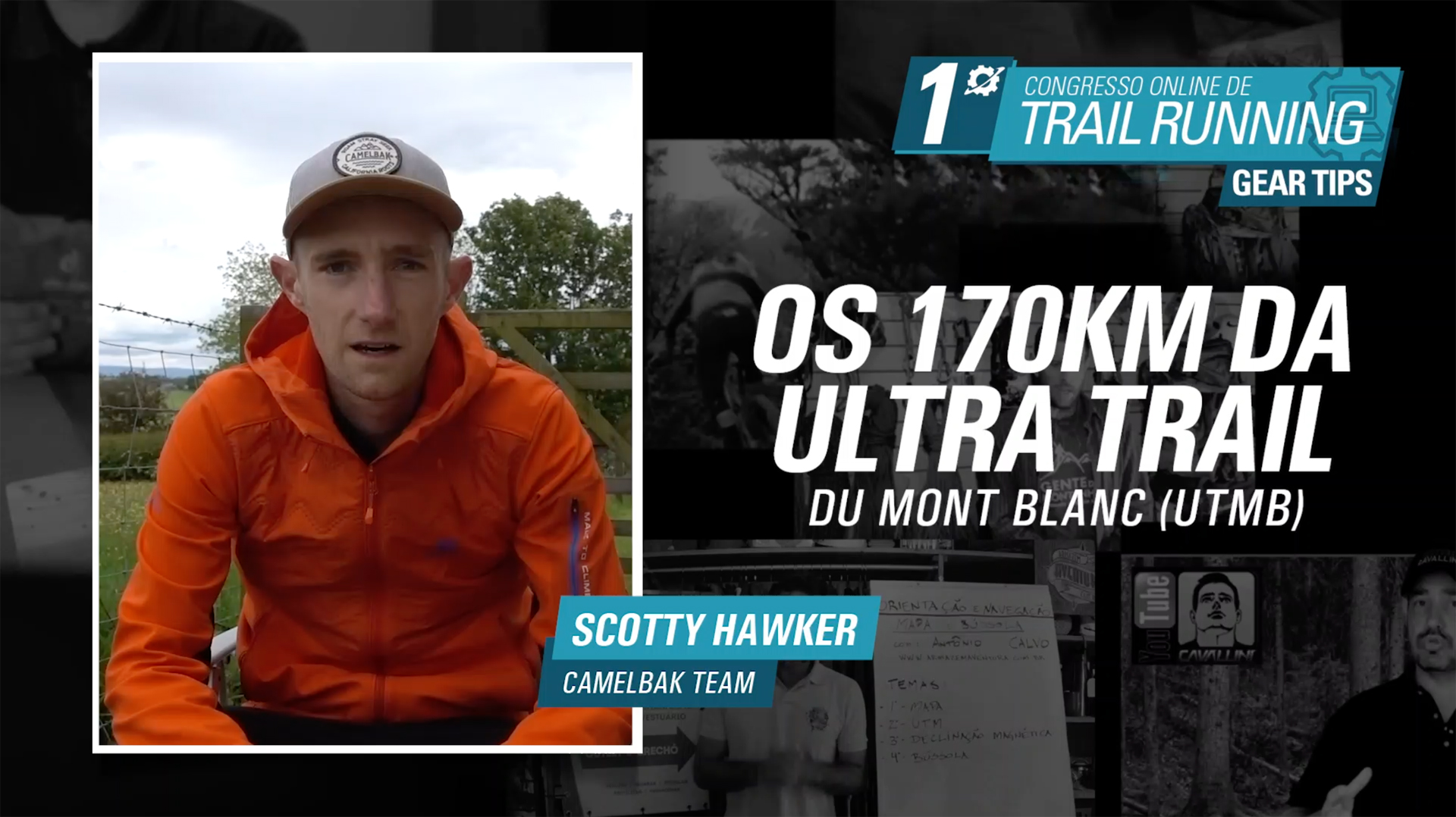 Ultra Trail du Mont Blanc - Scotty Hawker