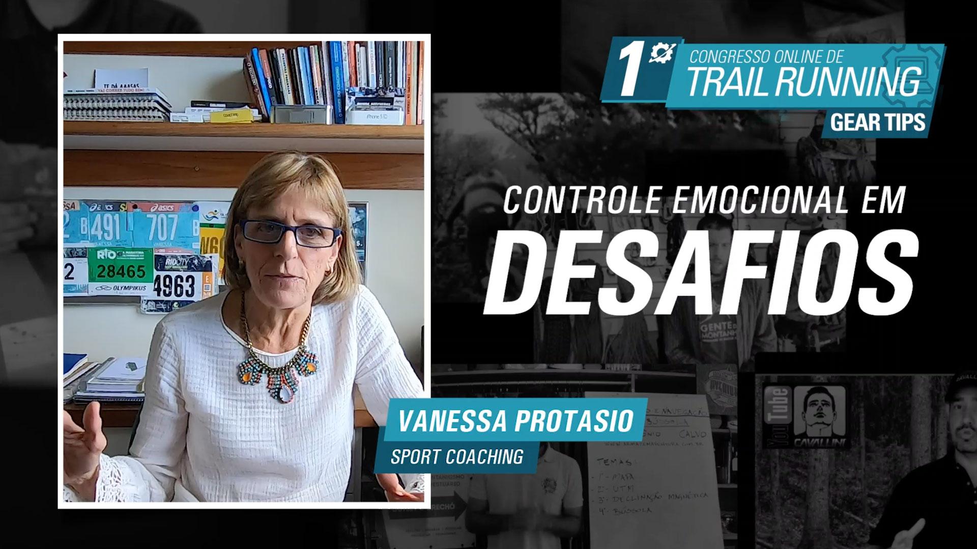 Controle Emocional em Desafios - Vanessa Protasio