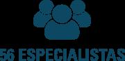 56 palestrantes especialistas