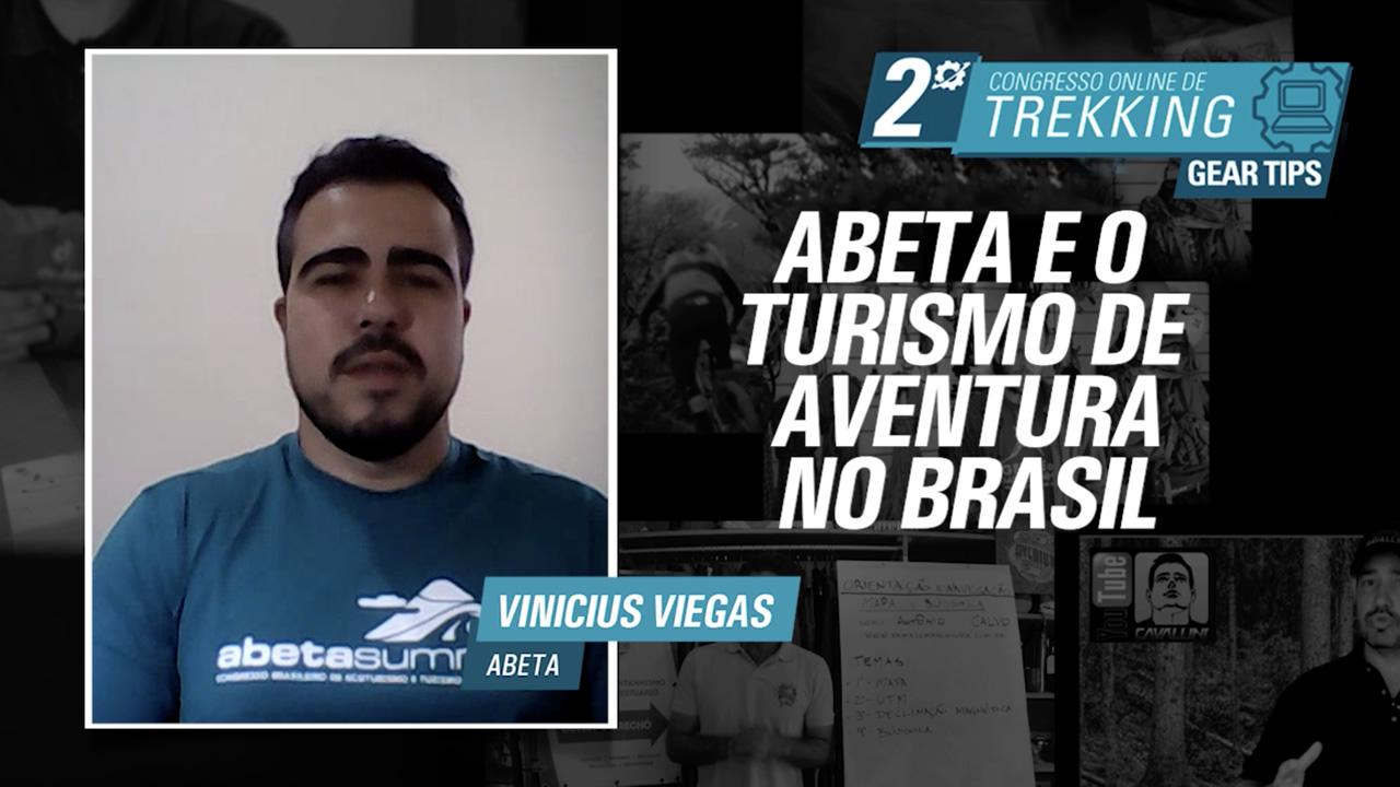 Abeta e o Turismo de Aventura no Brasil - Vinícius Viegas