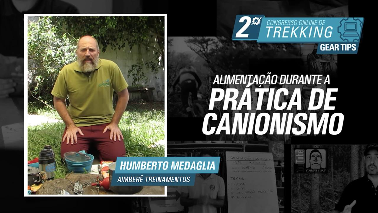 Alimentação no Canionismo - Humberto Medaglia