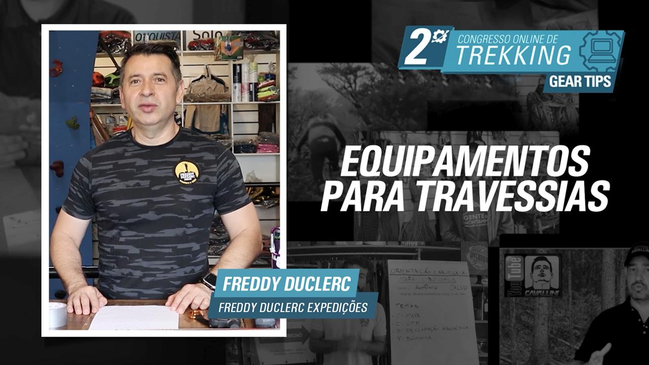 Equipamentos para Travessia - Freddy Duclerc