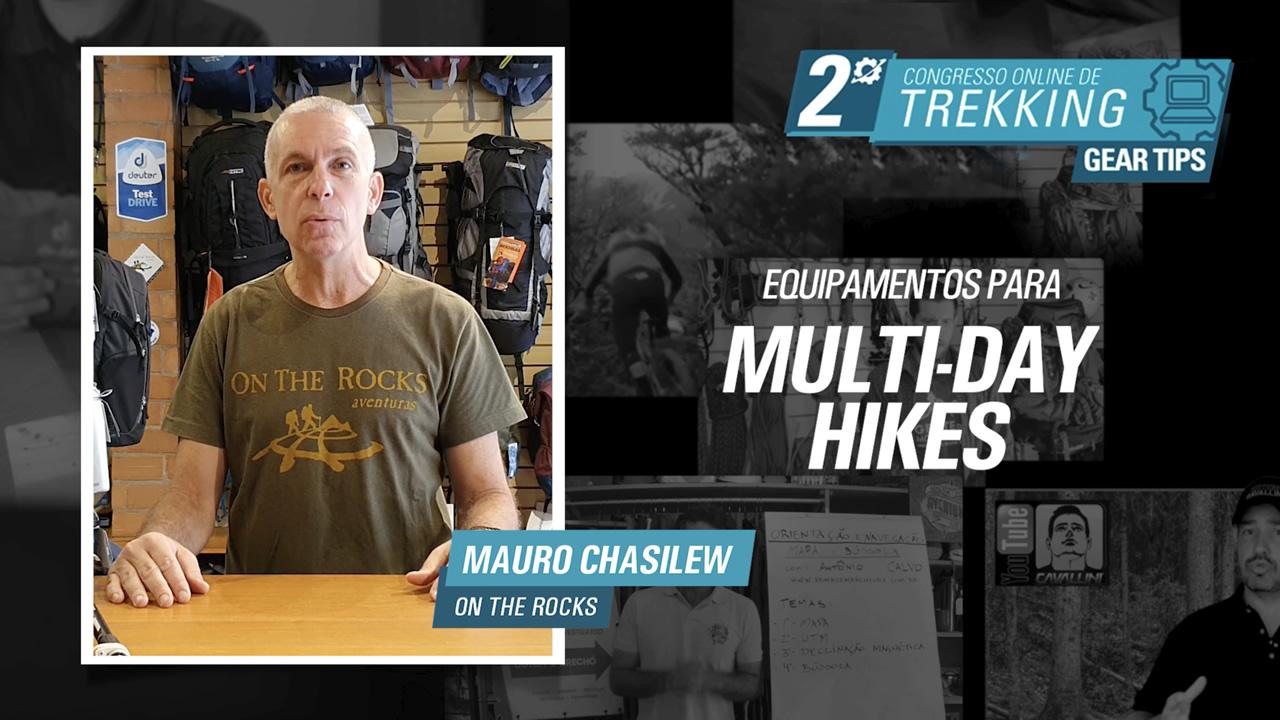 Equipamentos para Multi-day hikes - Mauro Chasilew