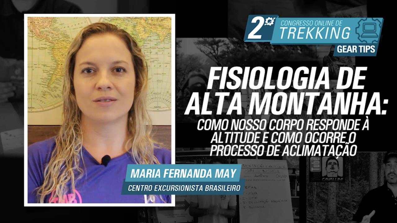 Fisiologia de alta montanha - Maria Fernanda May
