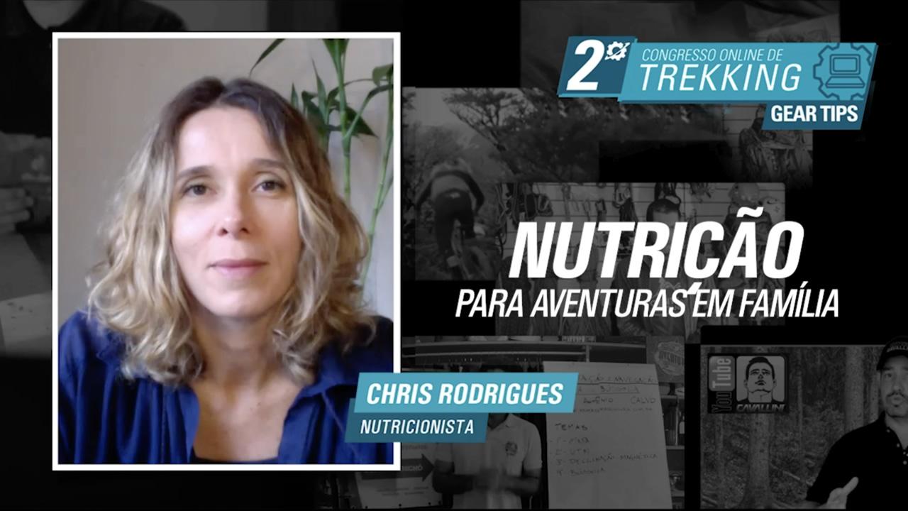 Nutrição Aventura em Família - Chris Rodrigues