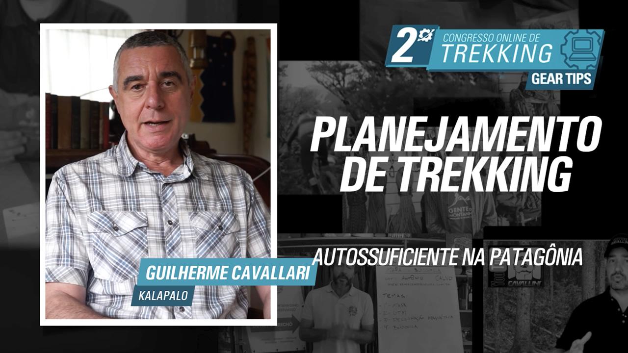 Planejamento Trekking Patagônia - Guilherme Cavallari