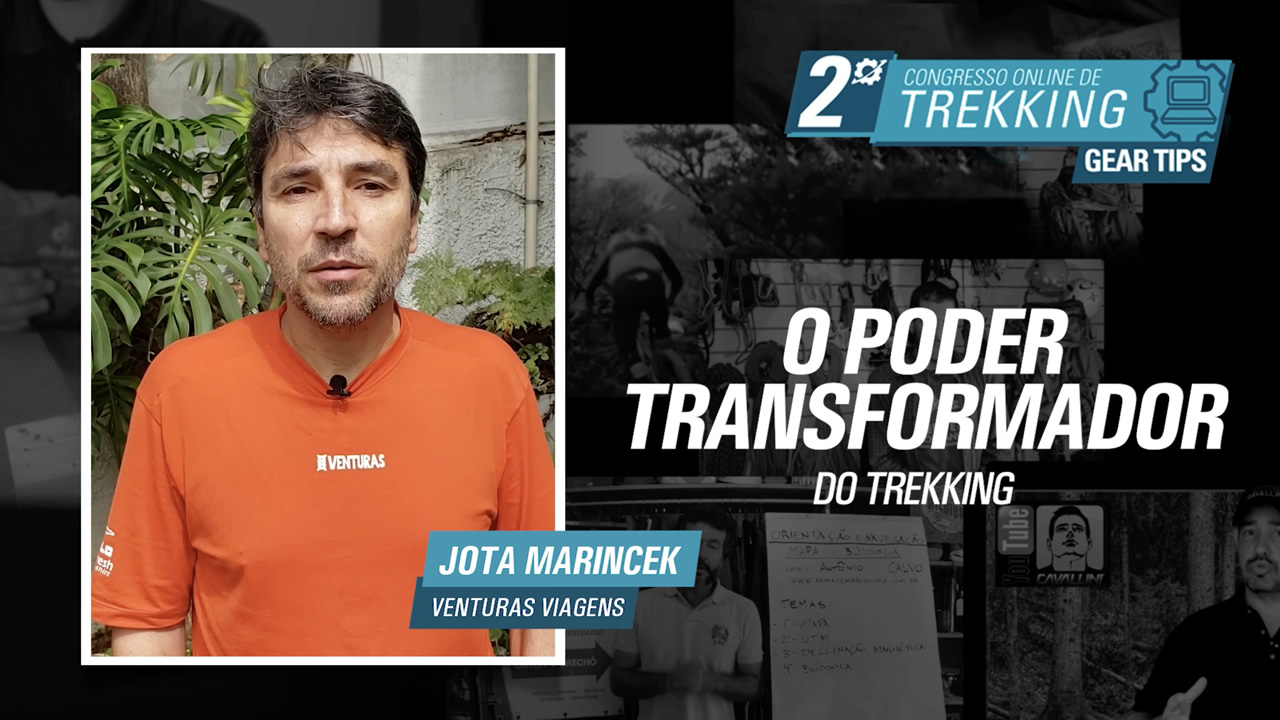 Poder Transformador do Trekking - Jota Marincek